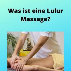Was ist eine Lulur Massage